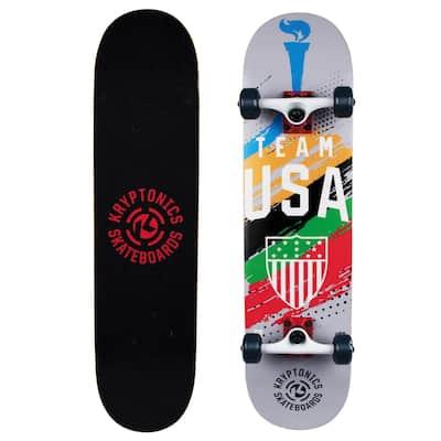 "USA Olympics Complete Skateboard (31"" x 7.75"") - 31"""