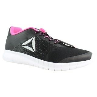 Reebok Womens Bs8478 Black Running Shoes Size 10.5