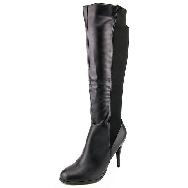 Diba Girl Extr Eme Women Round Toe Synthetic Black Knee High Boot