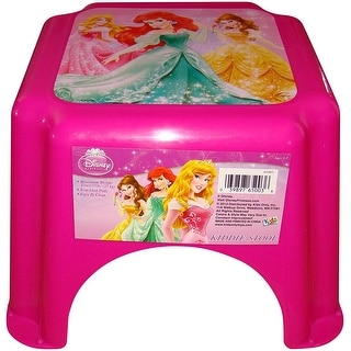 Disney Princess Pink Kiddie Stool