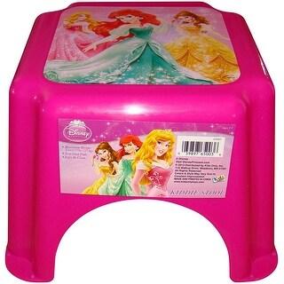 Disney Princess Pink Kiddie Stool