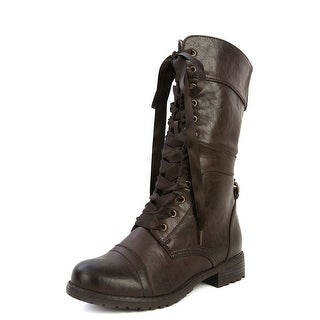 Wild Diva Women Timberly-43 Boots