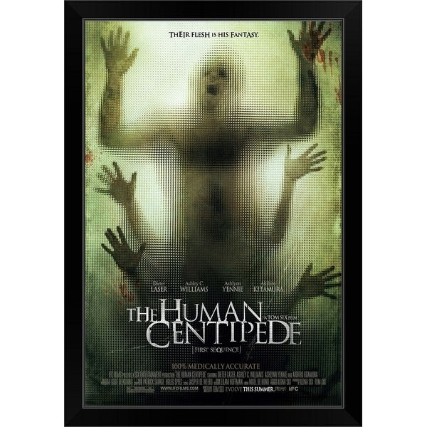 """The Human Centipede (First Sequence) - Movie Poster"" Black Framed Print"