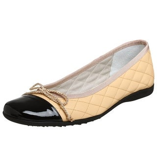 French Sole Womens Passport Closed Toe Espadrille Flats