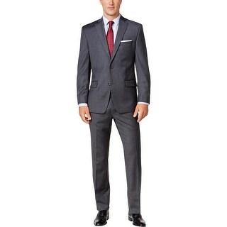 Michael Kors Mens Two-Button Suit Wool Classic Fit - 50l