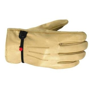 Wells Lamont 1132L Unlined Cowhide Full Leather Driver Glove, Large