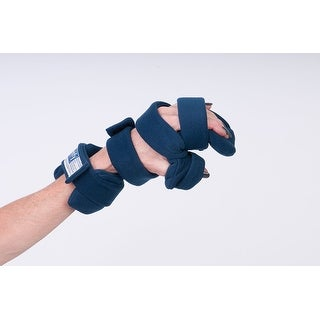 Comfy Splints Progressive Rest Hand W Five Straps Finger Separator Included Adult Left