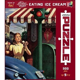 Eating Ice Cream 300 Piece Puzzle