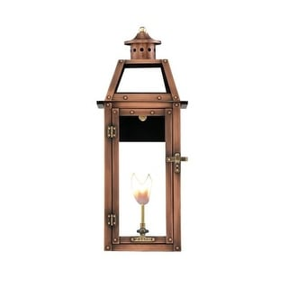 "Primo Lanterns BV-25G Bienville 14"" Wide Outdoor Wall-Mounted Lantern Natural Gas Configuration"