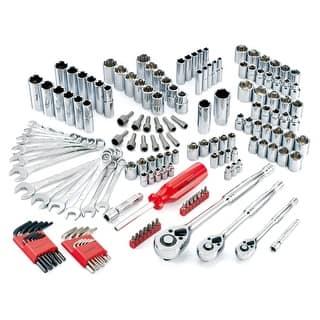 Powerbuilt 161 Piece SAE/Metric Socket Set, Mechanics Tool Kit|https://ak1.ostkcdn.com/images/products/is/images/direct/fbb744ac01751257770e8194568dbeb52a6f7d37/Powerbuilt-161-Pc-SAE-Metric-Ratchet-%26-Socket-Mechanics-Tool-Kit-Set---640745.jpg?impolicy=medium