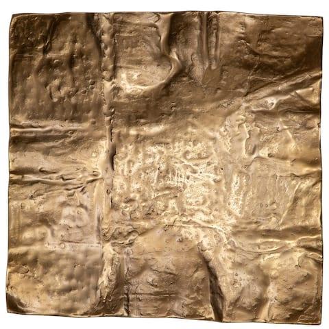 Uttermost Archive Brass Wall Decor - 19 x 19 x 4