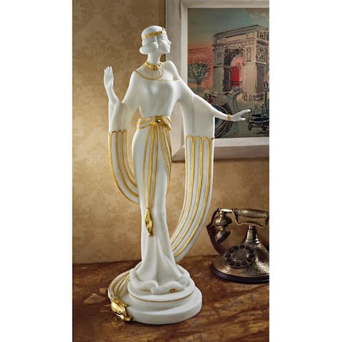 Design Toscano Draped in Gold Art Deco Dancer