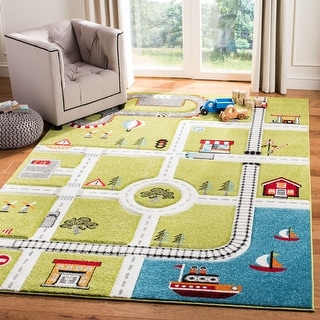 Link to Safavieh Carousel Kids Koika Neighborhood Rug Similar Items in Casual Rugs