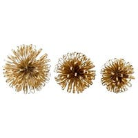 Aspire Home Accents 5703 Lori Gold Orbs - Set of 3