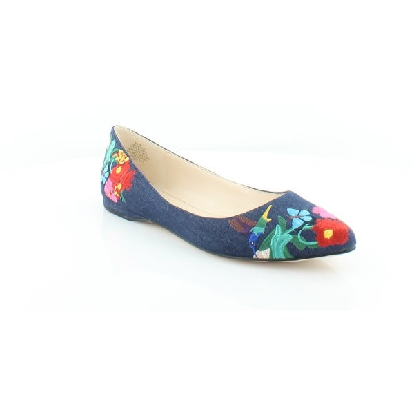 c57a972d0b7d Shop Nine West Speakup Women s FLATS Navy - Free Shipping Today ...