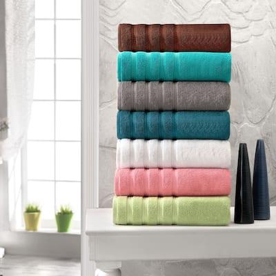 Antalya Hotel Collection Turkish Cotton Bathroom Towel 12 PC Set