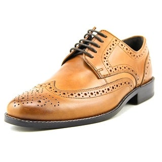 Nunn Bush Nelson Men  Round Toe Leather Tan Oxford