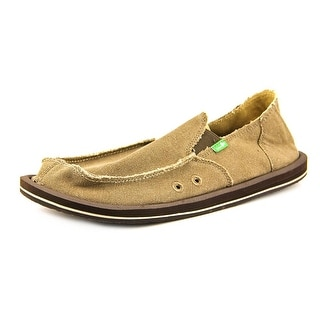 Sanuk Vagabond Round Toe Canvas Loafer