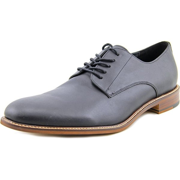 Aston Grey Collection Orlando Men Round Toe Leather Oxford
