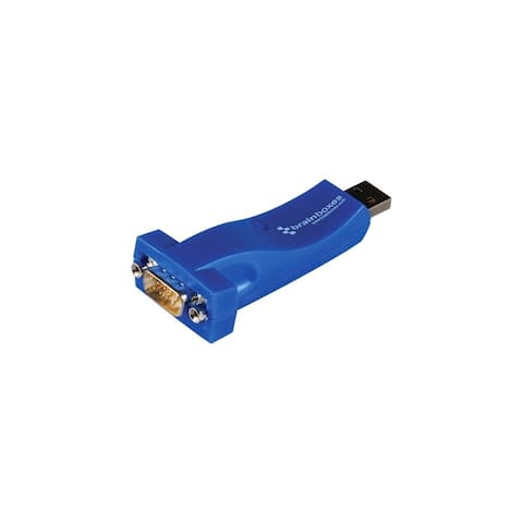 Brainboxes US-324-001 Brainboxes USB to Serial Adapter - 1 x Type A Male USB - 1 x DB-9 Male Serial