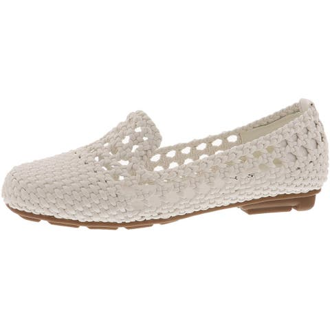 Array Womens Tori Fashion Loafers Faux Leather Slip On