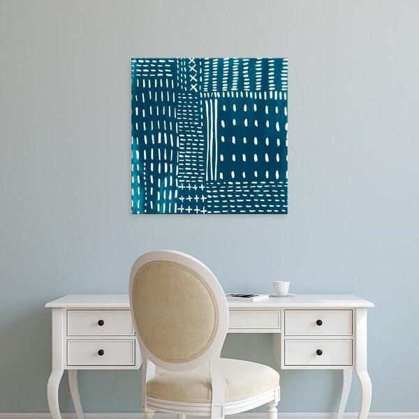 Easy Art Prints Chariklia Zarris's 'Sashiko Stitches III' Premium Canvas Art