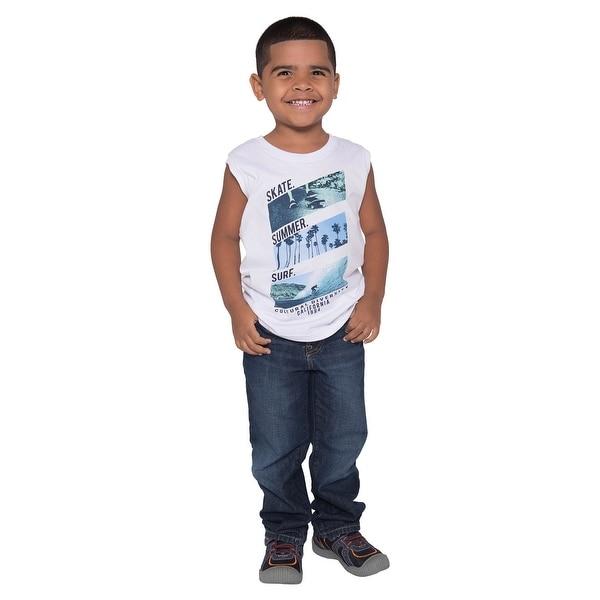 Pulla Bulla Toddler Boy Graphic Tank Top Sleeveless Shirt