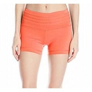 prAna NEW Neon Orange Women's Size Small S Olympia Stretch Shorts