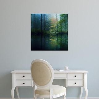 Easy Art Prints Adelino Gonçalves's 'The Forest' Premium Canvas Art