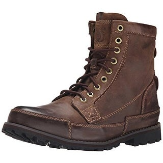 Timberland Mens Lace-Up Boot Leather Round Toe