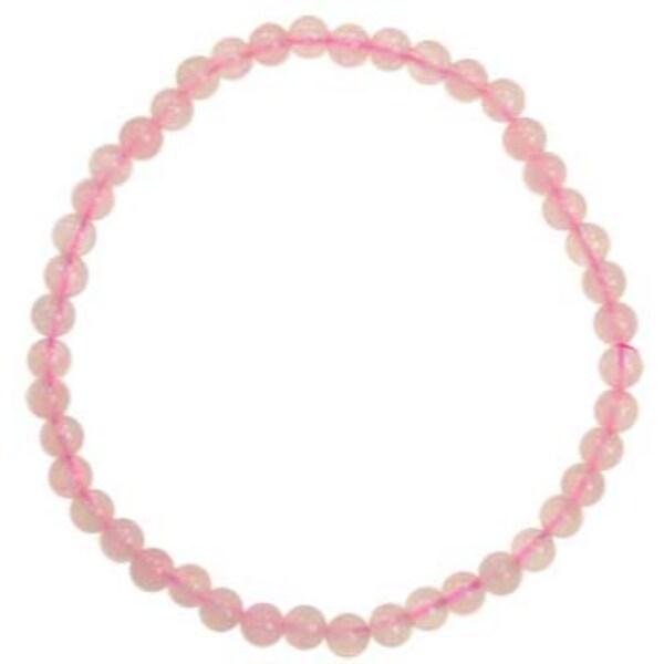 4mm Rose Quartzstretch bracelet