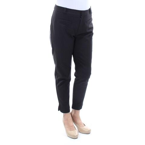 RACHEL ROY Womens Black Wear To Work Pants Size: 4