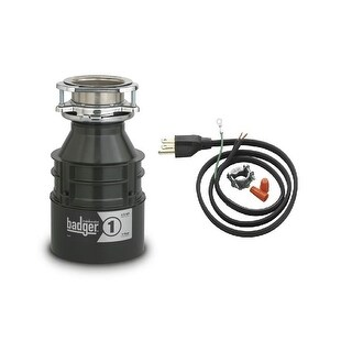 InSinkErator Badger 1 Badger 1/3 HP Garbage Disposal with Soundseal Technology (2 options available)