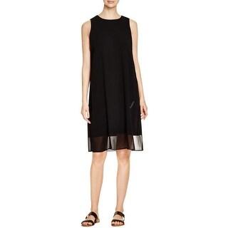 Eileen Fisher Womens Casual Dress Sleeveless Knee Length
