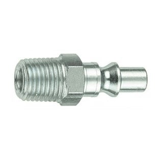 """Forney 75303 Air Fitting Plug, Aro Style, 1/4"""" x 1/4"""" Male Npt"""