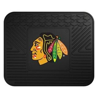 Chicago Blackhawks NHL Sports Team Logo Vinyl Utility Mat