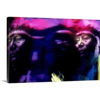 Premium Thick-Wrap Canvas entitled Native American