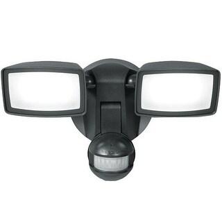 Cooper Lighting MST1850L All-Pro Motion-Sensing LED Outdoor Flood Light, 180 Degree