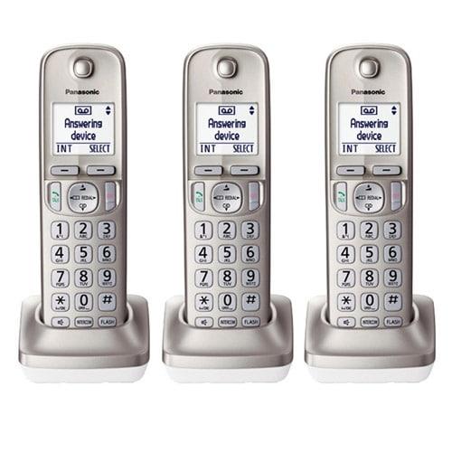 Panasonic KX-TGDA20N 3 Pack Additional Digital Cordless Handset