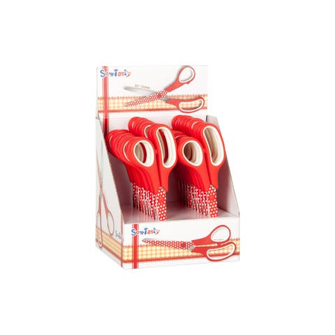 B4834 tacony sew tasty red polka dot scissor 8 5in pop