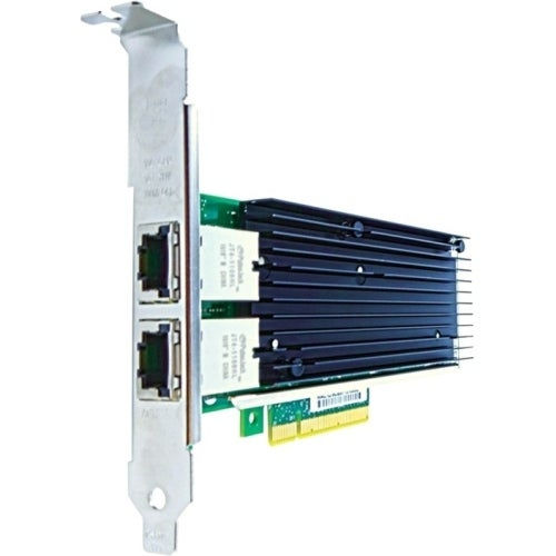 """Axiom PCIe 10Gbs Dual Port Copper Network Adapter for HP Empty Feature Sequence"""