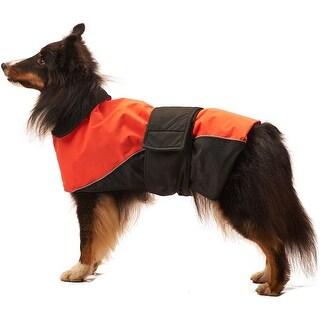 Orange Small - Dog Waterproof Reflective Coat
