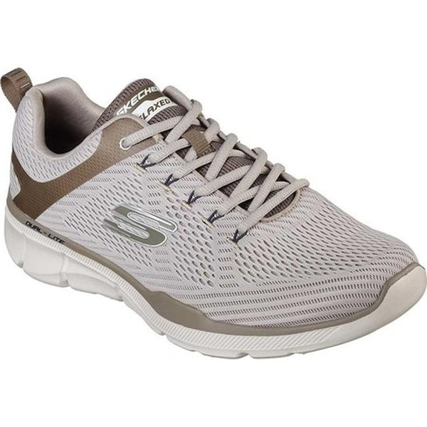 Shop Skechers Men s Relaxed Fit Equalizer 3.0 Sneaker Taupe - Free ... d50ee1e62f119