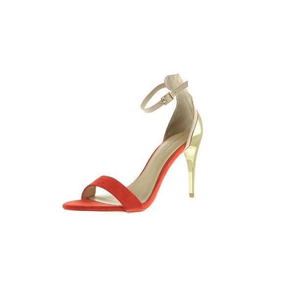 f7a1cbe5ad7 Shop Zara Basic Womens Evening Sandals Metallic Heels - Free ...