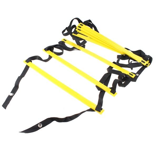 29e089547 AGPtEK Durable 4-Meter 8-Rung Agility Ladder for Soccer, Speed, Football
