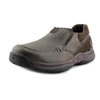 Nunn Bush High Cliff Jr. Toddler Round Toe Synthetic Brown Hiking Shoe