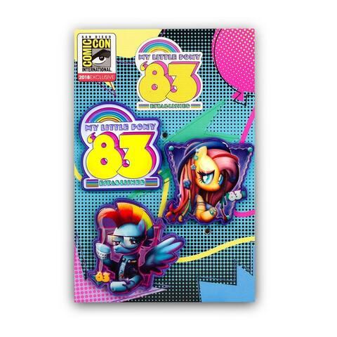 My Little Pony Enamel Pin Set Collectible Fandom Pins - Purple
