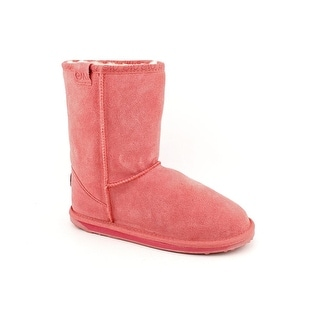 Emu Australia Wallaby Lo Toddler  Round Toe Suede Pink Winter Boot