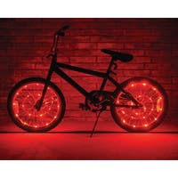 Wheel Brightz Lightweight LED Bicycle Safety Light Accessory Red - multi