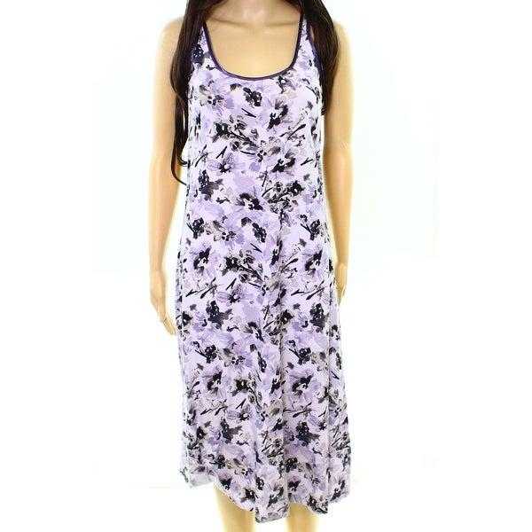 Lord & Taylor NEW Faded Iris Purple Womens Size XS Gowns Sleepwear ...